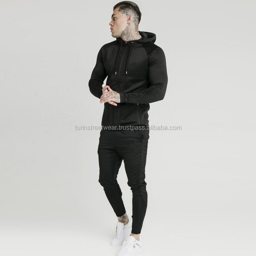 Custom sport Tracksuit/ Men navy Track suits/ Unisex cheap jogging suit