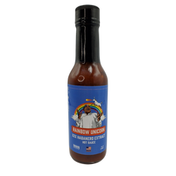 Rainbow Unicorn Full Bodied Full Flavored Hot Sauce By New York Fire Wings Sauce
