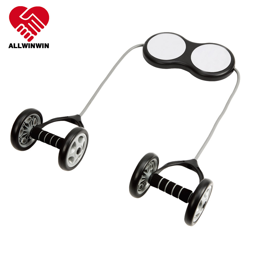ALLWINWIN ABW06 Ab Wheel - Knee Pad Separate Roller Equipment Home Gym Non Slip Power