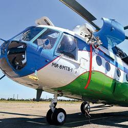 Real Helicopter for Sale Mi-8MTV-1