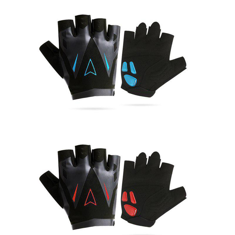 Brussels sports half finger gloves non-slip silicone gloves breathable latex glove
