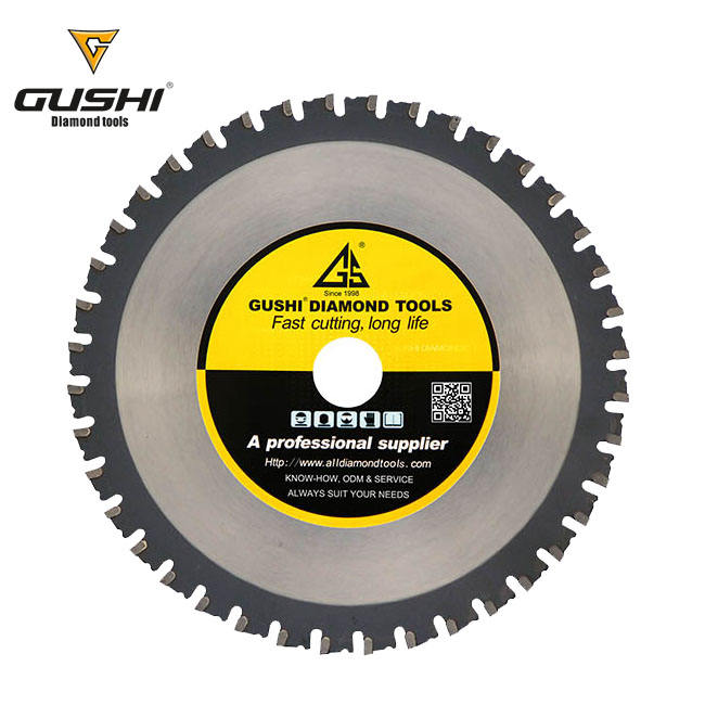 Tungsten Carbide Tipped Metal Cutting Circular Saw Blade for Ferrous