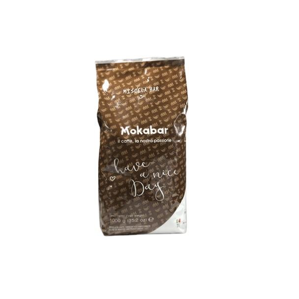 Bar line 1Kg - coffee beans - 90% Arabica - Roasted coffee beans - Italian Quality coffee - Made in italy - Mokabar