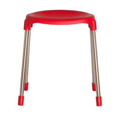 Plastic Chairs Stools with Metal Legs for Kindergarten, Nursery Home, Daycare, Preschool, Kids room - Plastic Stacking chairs