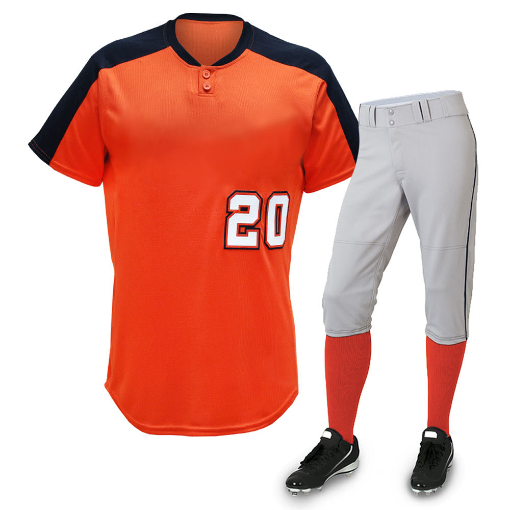 100% polyester custom baseball & softball uniforms