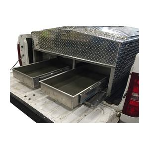 Custom made Sheet Metal Stainless Steel Aluminum Trolley Tool Storage Box
