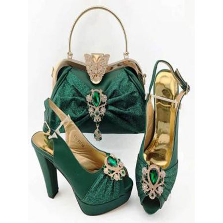 Latest Shoes Combo 2021 New Arrival Bling Rhinestone Ladies Party Sandals
