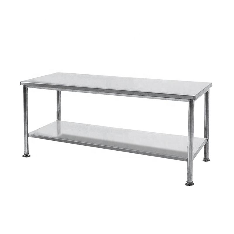 #304 Stainless Steel lab hospital working bench packing Table