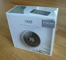 Free shipping Nest Learning Thermo-stat T3007ES 3rd Generation