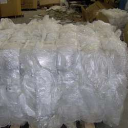 High Grade Recycled plastic roll bales LDPE agricultural film scrape