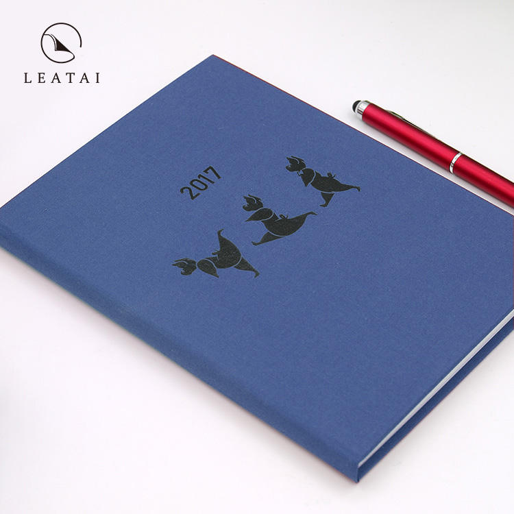 2021 metal clip cloth travel journal calendar