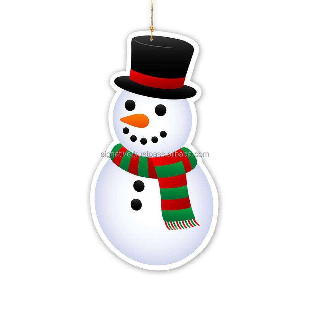 Snowman Christmas Hanging Ornaments For Christmas Decoration & Party Supplies New Latest Design