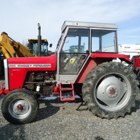 Massey Ferguson 265 Used Tractor For Export