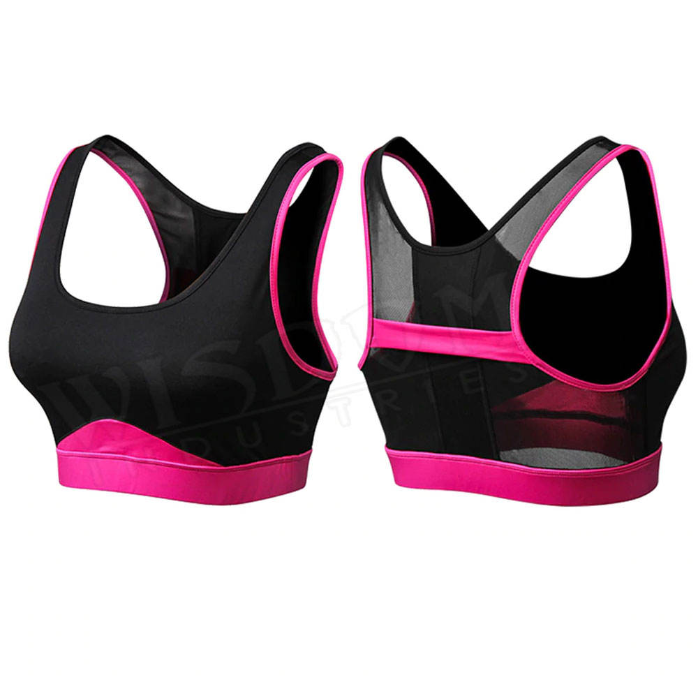 Reflective Soft Wholesale Custom Top Wear Sports Bra OEM Sport Yoga Bra Gym Fitness Apparel Clothing Women