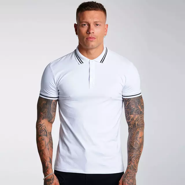High Quality Polo Shirt Wholesale Men Clothes Short Sleeve Custom Logo Polo T-shirts