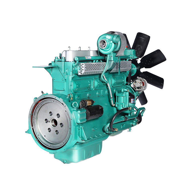 Professional Price 6-Cylinder Diesel Water Cooled Lister Type Generator Diesel Engine Price With Radiator