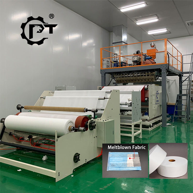 2020 automatic meltblown for mask melt blown nonwoven fabric production line extruder making machine