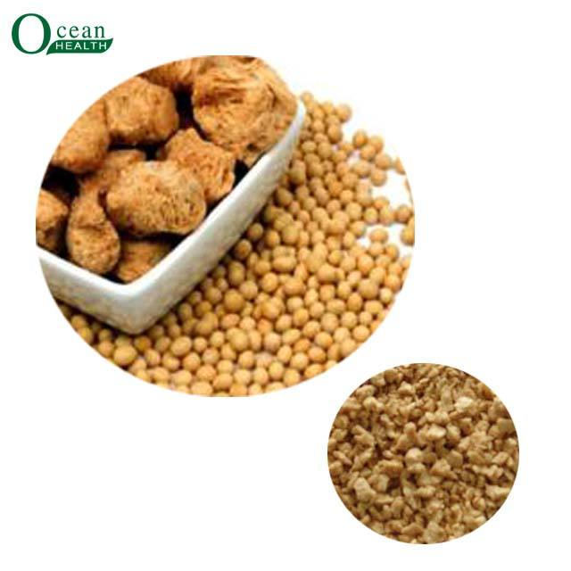 Food grade small granules irregular good quality tvp textured soy protein