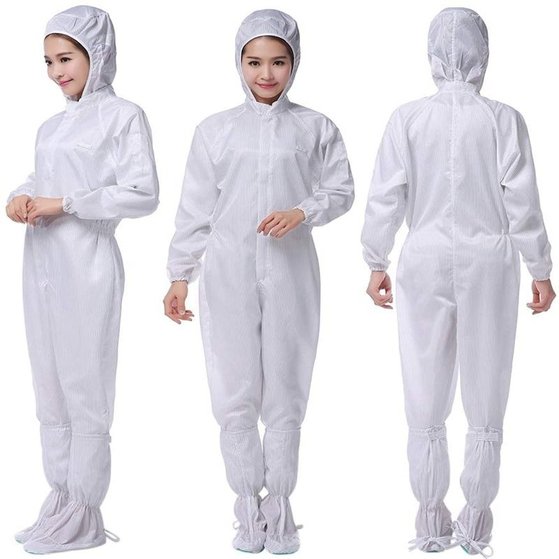Medical Protective Clothing Sets Disposable Antivirus Protective Clothing Waterproof Oil-Resistant Protective Coverall Clothes