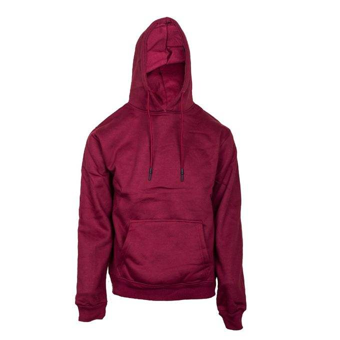 Plain Cotton Hoodie - Maroon OEM Service Top quality cheap rates