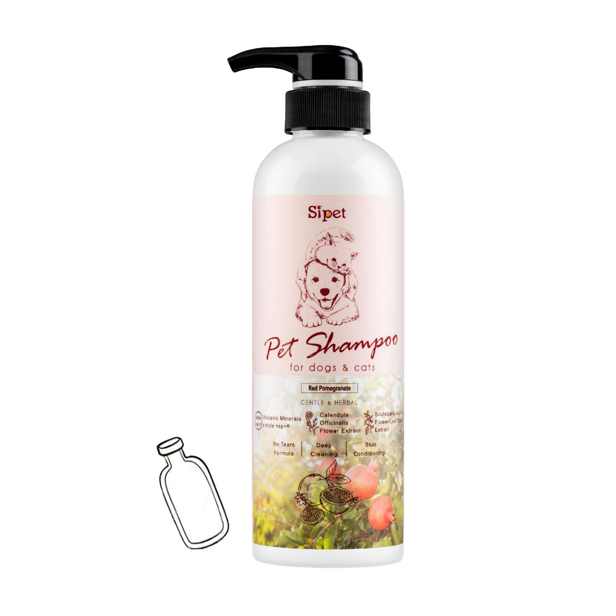 Non-Toxic Pet Shampoo for Dog and Cat Spa