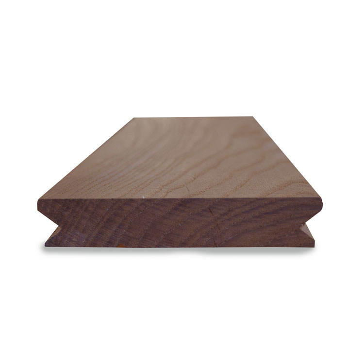 High Quality Outdoor Solid Wood Boards Thermowood Ash Decking Manufacturer