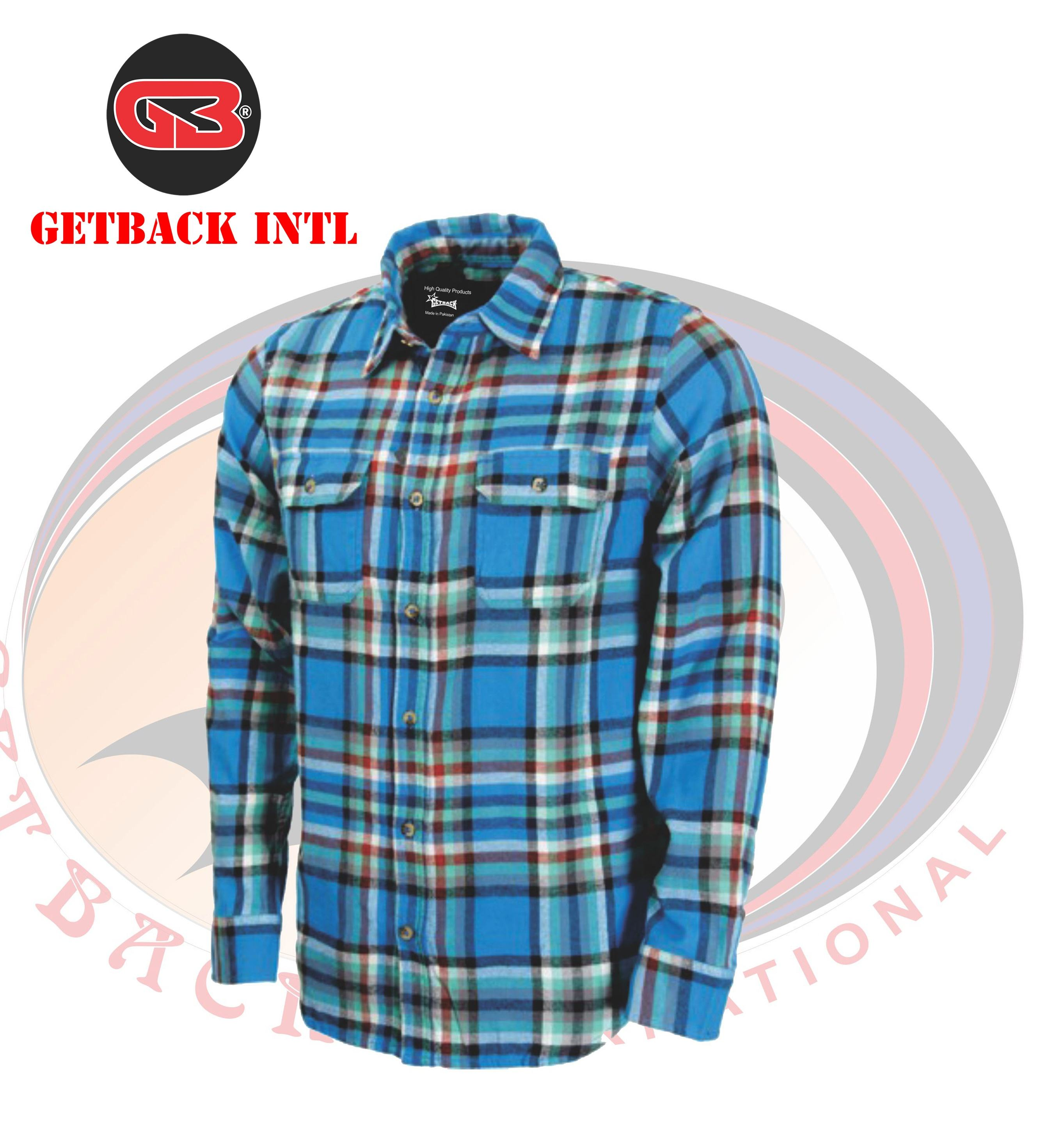 Custom Flannel Shirts with Pockets and Buttons