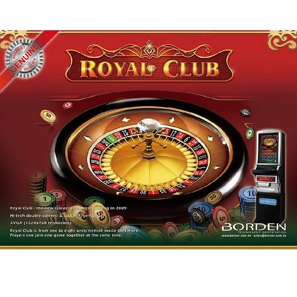 Elektronische roulette game Royal Club amerikaanse roulette
