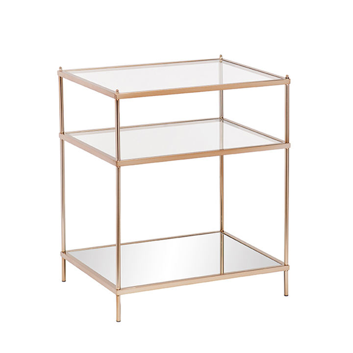 Knox Side Table - Warm Gold