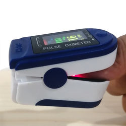 In Stock Blood Oxygen Saturation Monitor (SpO2) with Pulse Rate Measurements and Pulse Bar Graph