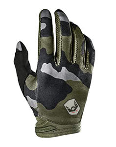 Motocross gloves MX Gloves MTB gloves in camouflage sublimation