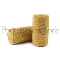 Micro agglomerated cork stoppers