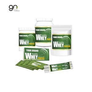 Vanilla Flavor Whey Protein powder could strengthen muscles and lose weight that we accept OEM - ODM