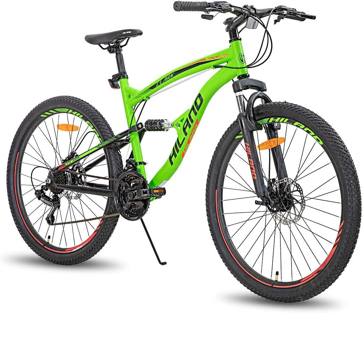 Best Deal!! Hiiland 26 Inch Dual-Suspension Mountain Bike
