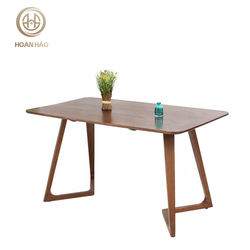 Low Moq Custom Production For High Quality Hardwood Simple Wooden Office Table Design