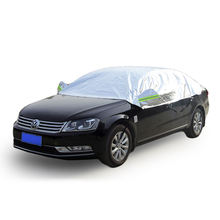 Half Car Cover Waterproof Dust UV Sunlight Protection