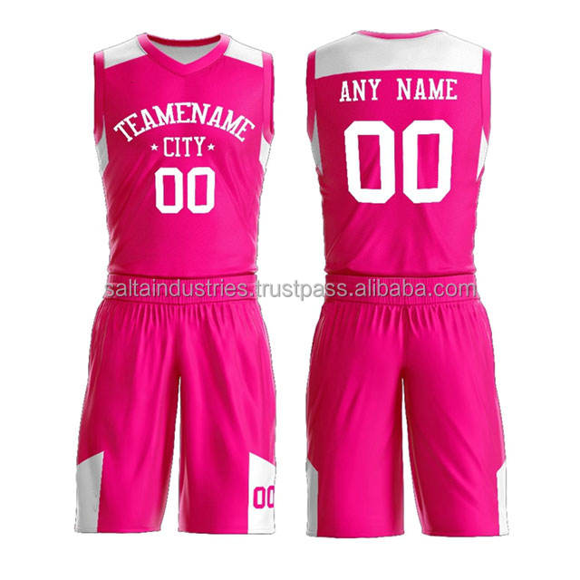 Basketball-Kit Team Club Basketball Uniform Sublimation Design Basketball Uniform