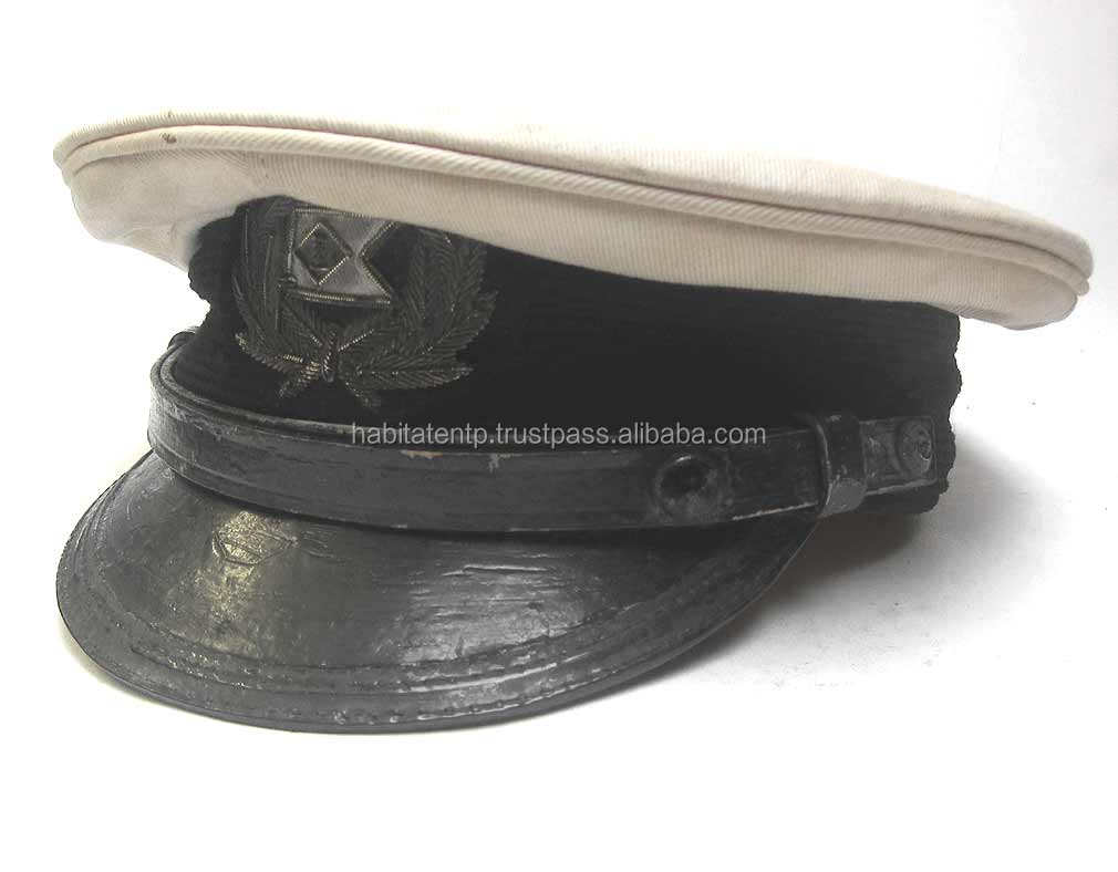 Brand New Custom Made Reproduction Brothers Steamship Company Officers Hat World War Civil British German Us Caps