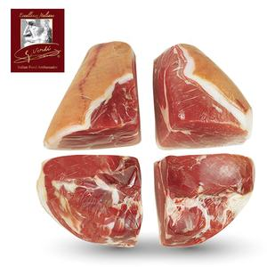 1.2 Kg Deboned Cured Ham cut in 1/4 pieces Gluten Free and Dairy free Giuseppe Verdi Selection Made in Italy Prosciutto