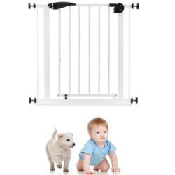 Safety gate for kids & pets safety door guard, child door protector barrier for protection