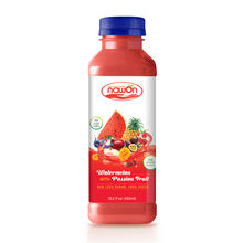 15.2 fl oz NAWON Bottle Watermelon with Passion Fruit Juice