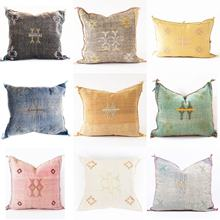 Amazing Handwoven Cactus Silk Cushions