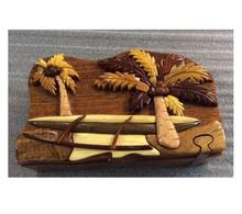 HAWAI WOODEN BOX/ WOODEN PUZZLE BOX FOR HAWAII MARKET(0084587176063 WS)