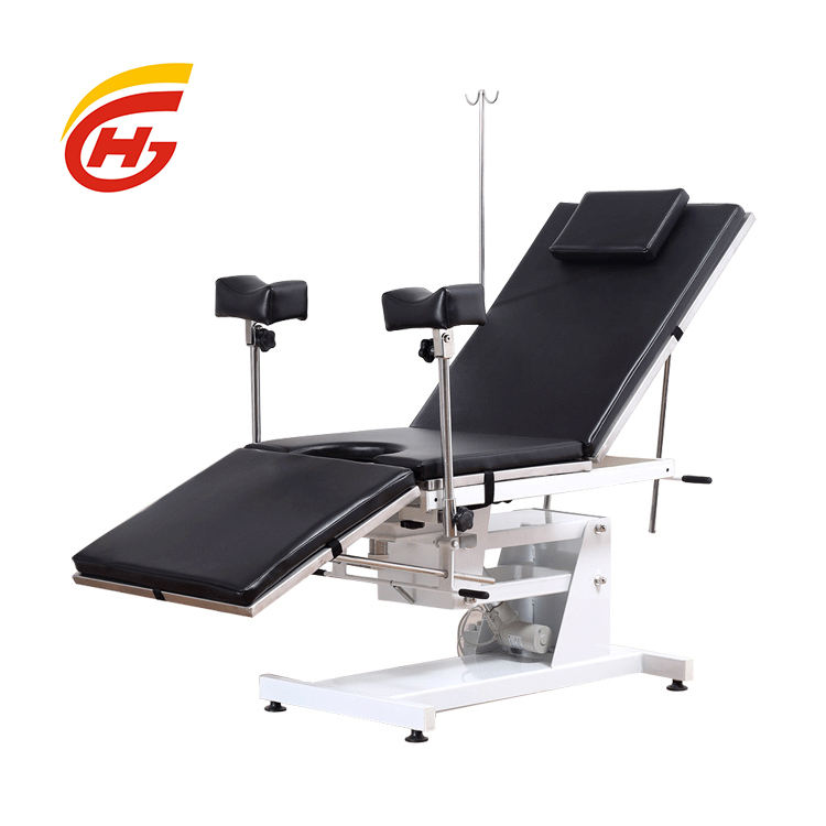 """HG-E001"" Hospital Equipment Labour Bed Body Examination Table"
