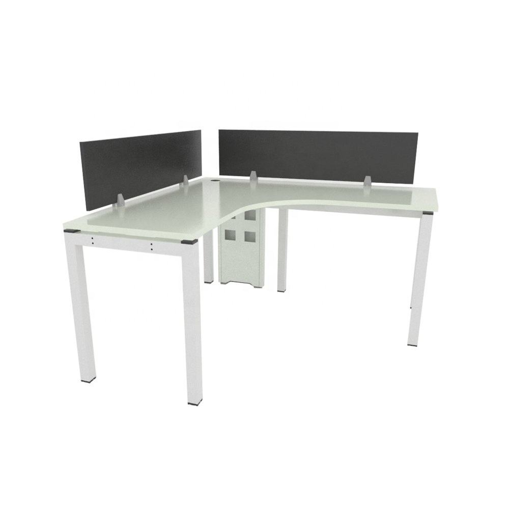 Single Seater Office Partition table Desk Comes with Wire Terminal Malaysia