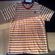 Yarn Dyed Men's 100% Cotton short sleeve t-shirt.
