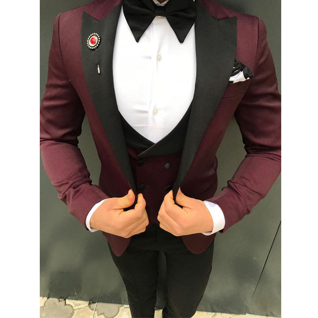 New Fashion Tuxedo Slim Fit Men Suit Turkish man suit