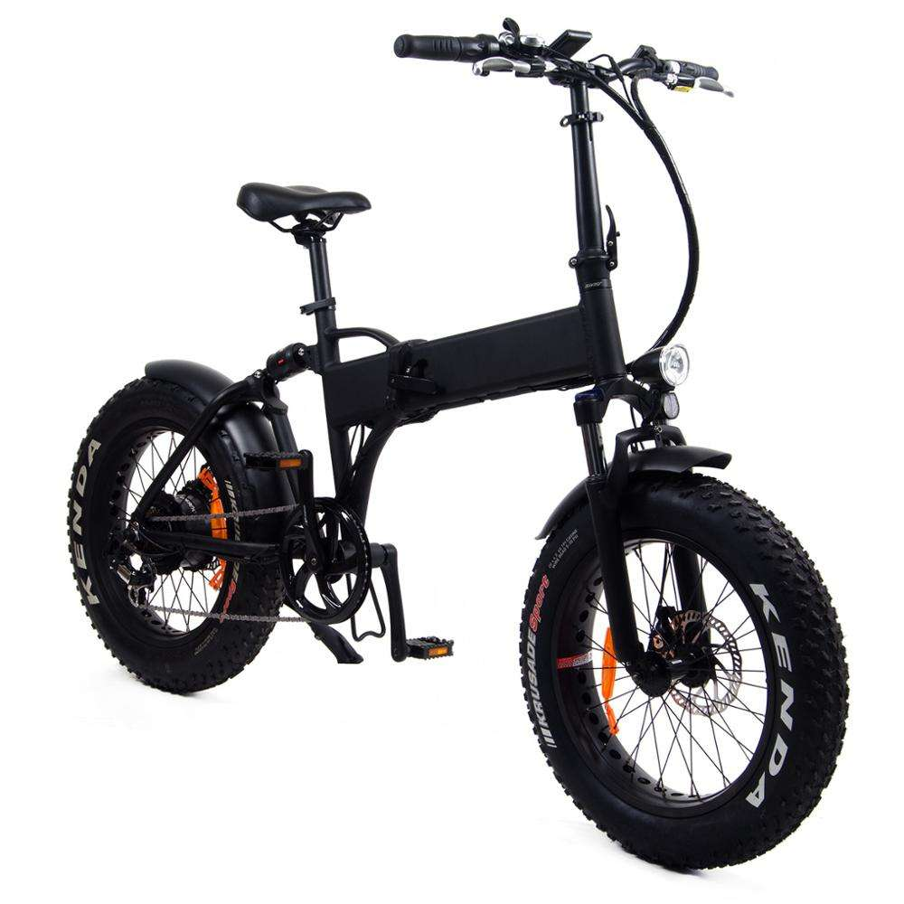 High quality folding 36v ebike 500w with aluminum alloy frame and 20*4.0 inch fat tire for electrical city riders