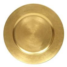 Wandcraft Gold Charger Plate show plate & serving  for wedding