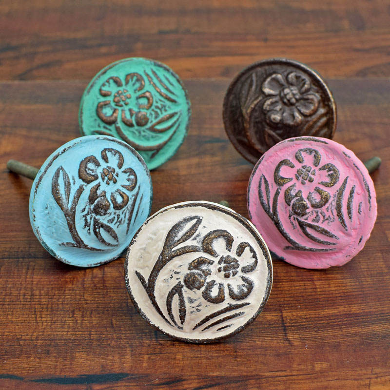 Antique Bronze Cast Iron Decorative Drawer Knobs and Pulls, Kitchen Cabinet Knobs